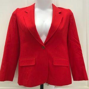 Women's Vintage PENDLETON Red Blazer Sz M